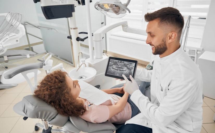RTG zębów - zdjęcie pantomograficzne u dentysty
